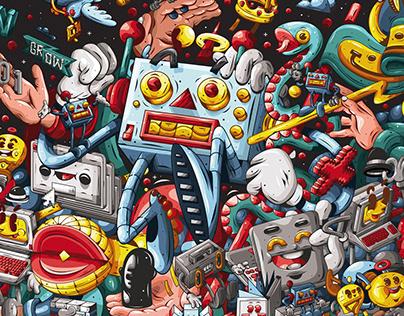 DXTR - Various Illustrations 2019