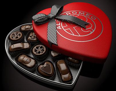 Alfa Romeo is Sweet - CGI & Retouching