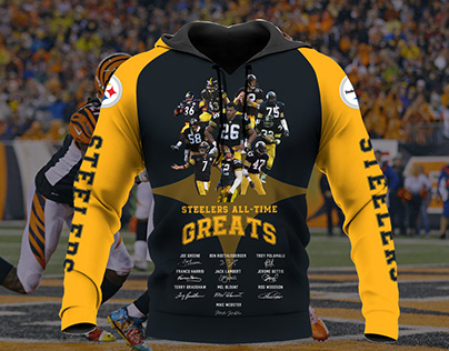 Steelers Football Team Hoodie and Sweet design