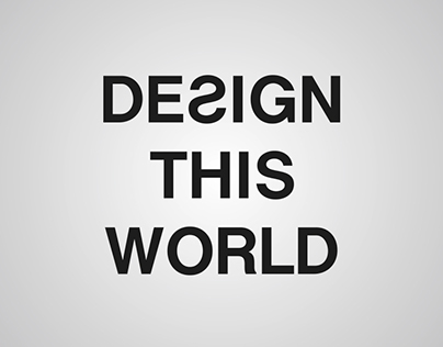 Design This World