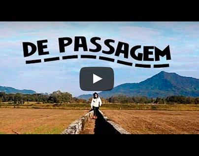 2 VÍDEOS - De Passagem - Programa TV (episódio piloto)