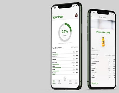 NomNom AR Health App