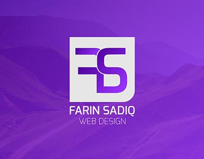 Farinsadiq.com - Portfolio Design
