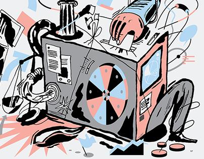 Democracy Machine - Kleroterion