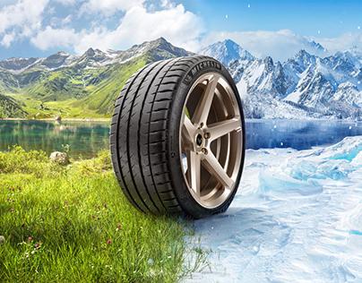 Michelin Reifen Ad