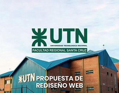 UTN FRSC - Sitio Web
