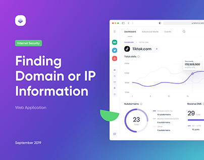 Finding Domain or IP Information | Web App