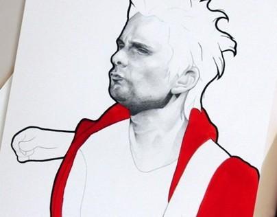 Matthew Bellamy of Muse