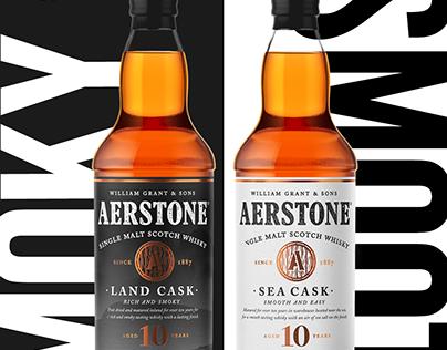 Aerstone Single Malt campaign