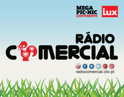 Rádio Comercial no Mega Pic-Nic do Continente