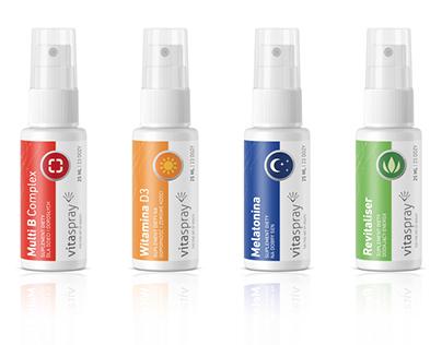 Vitaspray packaging