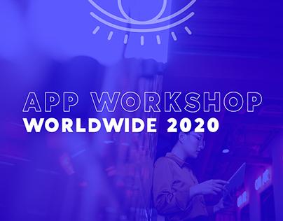 App Workshop | Worldwide 2020