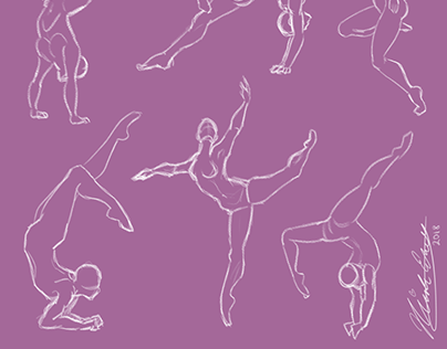 Female Figure Drawing: Dance & Acrobatics