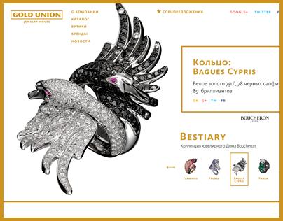 Gold Union Website