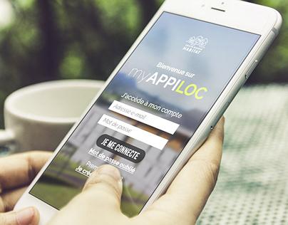 myAPPILOC | APP DESIGN, VISUAL IDENTITY