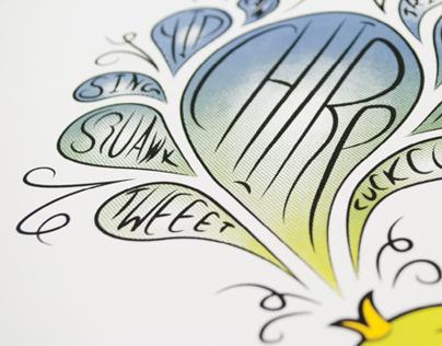 Songbird Screen Print