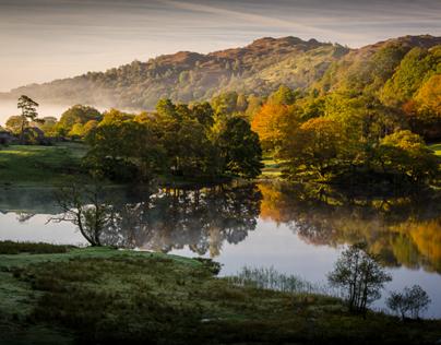 Loughrigg Tarn - The Lake District