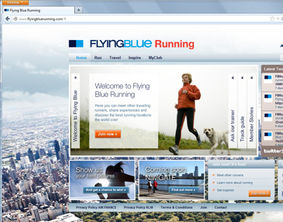 AirFrance KLM - Flying Blue Running community