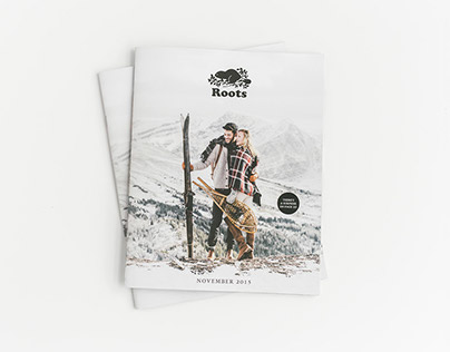 Roots Canada • Holiday Gift Guide 2015 • Print & Web