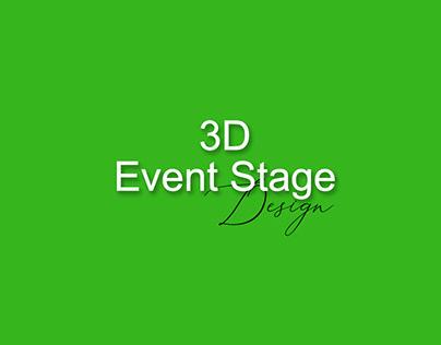 3D Event Stage Design