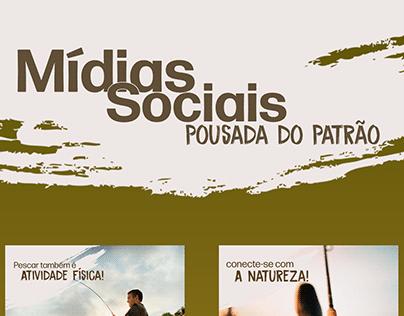 Mídias Sociais - Pousada do Patrão