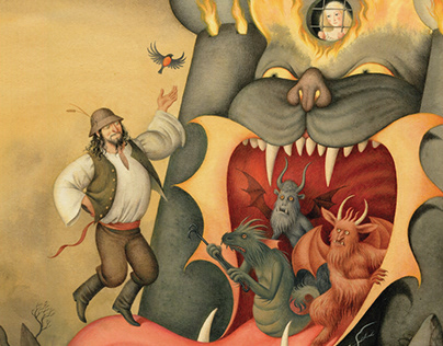 The Illustrated Book of Slovak Folktales
