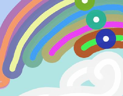 Skittle Panes Design
