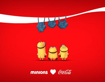 Coca Cola -X- Minions