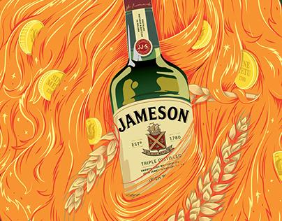 Jameson - Irish Whiskey - Saint Patrick's Day