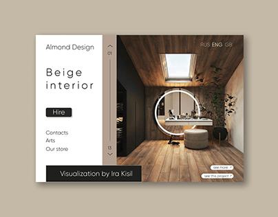 Landing page   AR Design