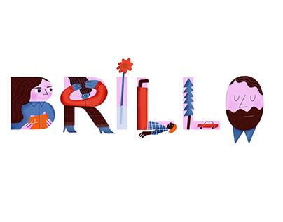 Brillo Magazine logo competition