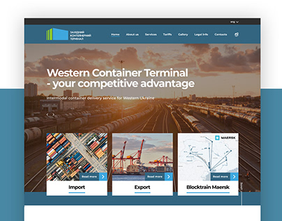 Western Container Terminal - Landing Page