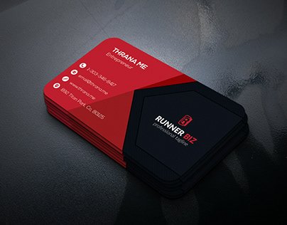 Download SingleBusiness Card Mock-Up Free