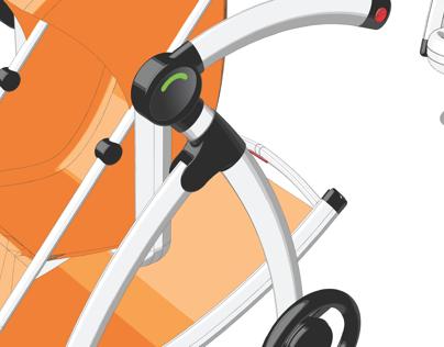 Rock-It Baby Stroller