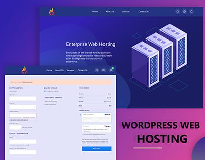 Web Hosting Website UI/UX Design   Payment Method Page