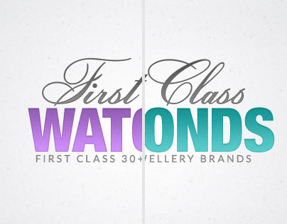 The First Class Watches & The First Class Diamonds