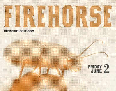 Firehorse Gig Poster