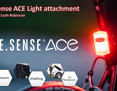 See Sense ACE light attachment - BE SEEN