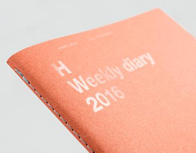 HEADS Weekly diary 2016
