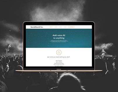 Soundhound.com Web Design