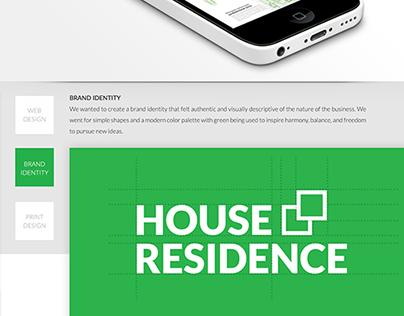 House Residence. Acasa e perfect!