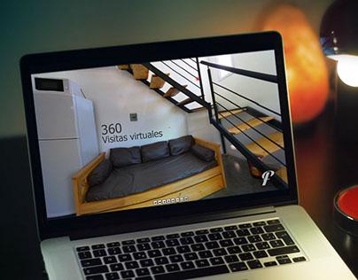 """Bungalows """"Los Paga"""" - Visita virtual / Galería 360"""