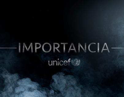 Importancia / Unicef / Radio campaign