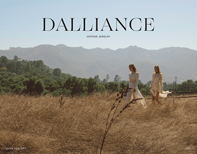 Dalliance Jewelry - Branding & Website