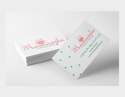Mamuszka | Logo & Bussines Card