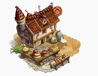 Candy-Maker House