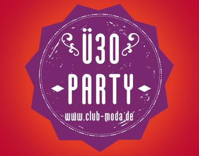 Club Moda - Ü30 Party