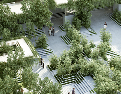 Magic Breeze Landscape / Facade Design