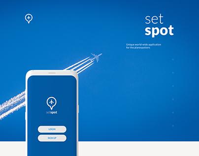 Mobile application SetSpot