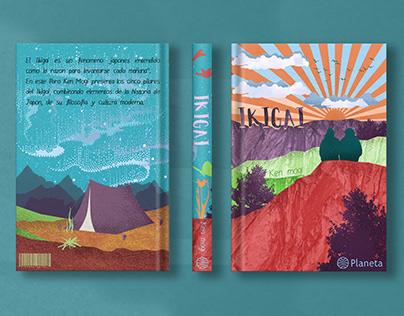 Ikigai - Book cover redesign